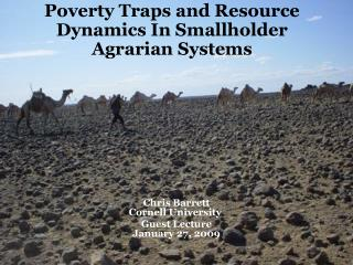 Poverty Traps and Resource Dynamics In Smallholder Agrarian Systems