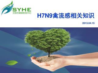 H7N9 禽流感相关知识 2013.04.15