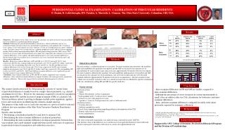PERIODONTAL CLINICAL EXAMINATION: CALIBRATION OF FIRST-YEAR RESIDENTS