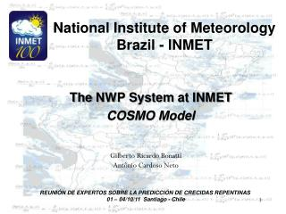 National Institute of Meteorology Brazil - INMET