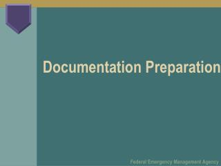 Documentation Preparation