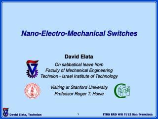 Nano-Electro-Mechanical Switches