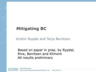 Mitigating BC