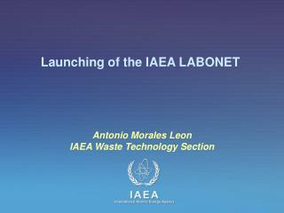 Launching of the IAEA LABONET