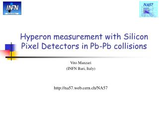 Hyperon measurement with Silicon Pixel Detectors in Pb-Pb collisions