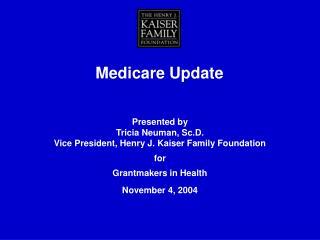 Medicare Update