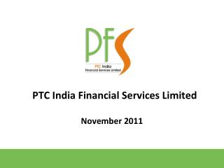 PTC India Financial Services Limited