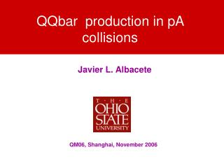 QQbar  production in pA collisions
