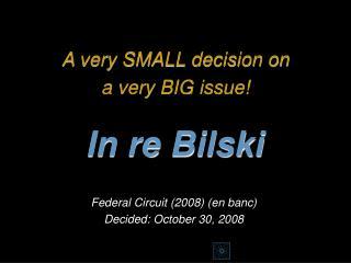 In re Bilski