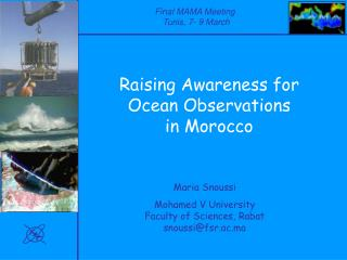 Raising Awareness for Ocean Observations  in Morocco