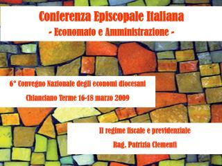 Conferenza Episcopale Italiana - Economato e Amministrazione -