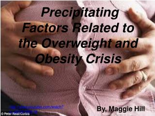Precipitating Factors Related to the Overweight and Obesity Crisis