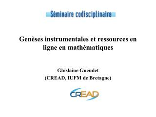 Gen�ses instrumentales et ressources en ligne en math�matiques
