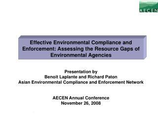 Presentation by Benoit Laplante and Richard Paton