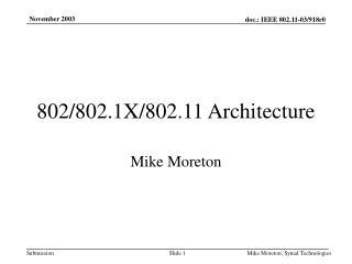 Mike Moreton
