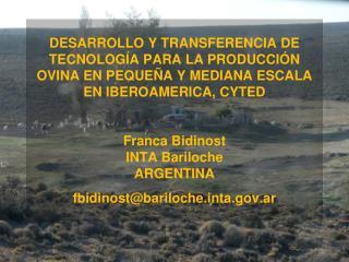 Producción Animal Joaquin Mueller ,  Nicolas Giovannini Celso  Giraudo , Laura Villar