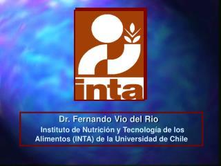 Dr. Fernando Vio del Rio
