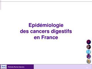 Epidémiologie  des cancers digestifs en France
