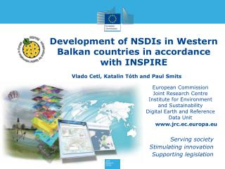 Development of NSDIs in Western Balkan countries in accordance with INSPIRE