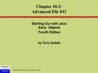 Starting Out with Java:  Early  Objects  Fourth Edition by Tony Gaddis