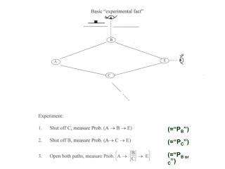 (=�P B �) (=�P C �) (=�P B or C �)
