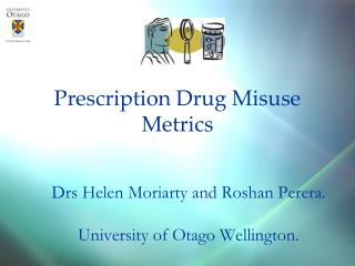 Prescription Drug Misuse Metrics