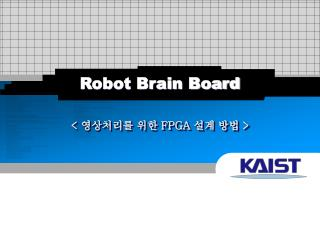 Robot Brain Board