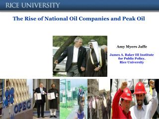 The Rise of National Oil Companies and Peak Oil