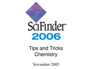 Tips and Tricks Chemistry