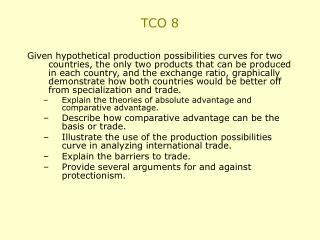 TCO 8