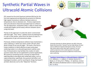 Synthetic Partial Waves in  Ultracold  Atomic Collisions