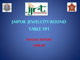 JAIPUR  JEWELCITY ROUND TABLE 191