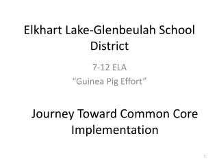 Elkhart Lake-Glenbeulah School District