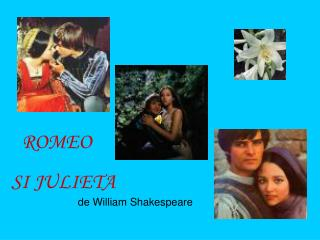 SI JULIETA de William Shakespeare