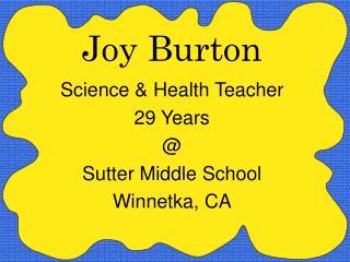 Joy Burton