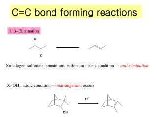 C=C bond forming reactions
