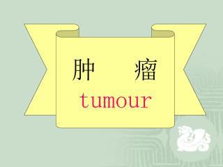 肿   瘤 tumour