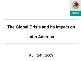 April 24 th , 2009