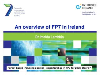 An overview of FP7 in Ireland