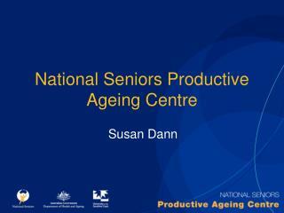National Seniors Productive Ageing Centre