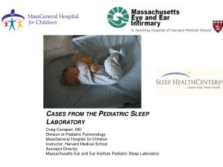 Cases from the Pediatric Sleep Laboratory