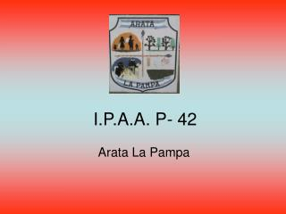 I.P.A.A. P- 42