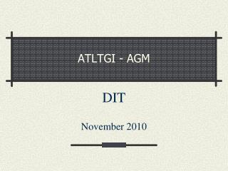 ATLTGI - AGM