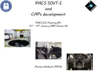 PACS SOVT-2 and CAPs development