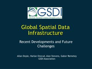 Global Spatial Data Infrastructure
