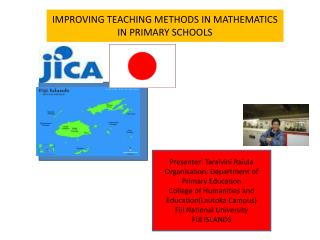 IMPROVING TEACHING METHODS IN MATHEMATICS IN PRIMARY SCHOOLS