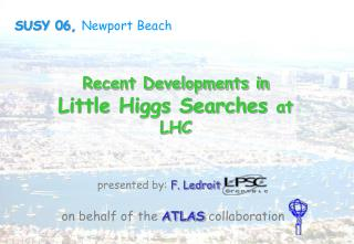 Recent Developments in  Little Higgs Searches  at LHC