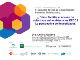 ¿ Cómo facilitar el acceso de colectivos vulnerables a los EECC?