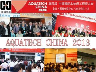 AQUATECH CHINA 2013