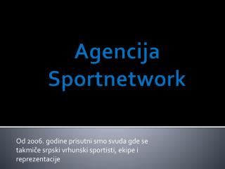 Agencija Sportnetwork